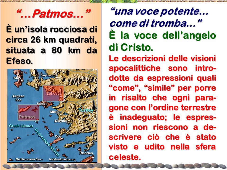 …Patmos… una voce potente… come di tromba…