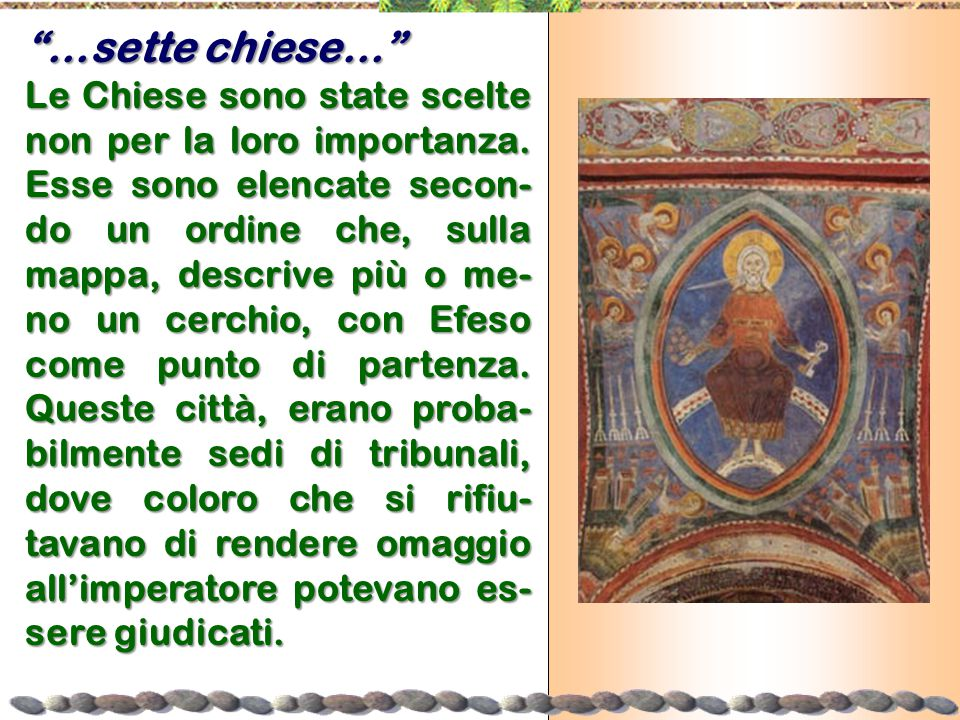 …sette chiese…