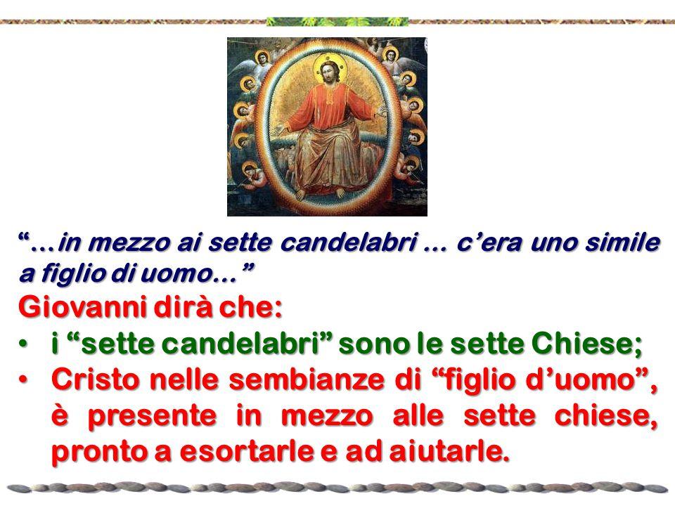 i sette candelabri sono le sette Chiese;