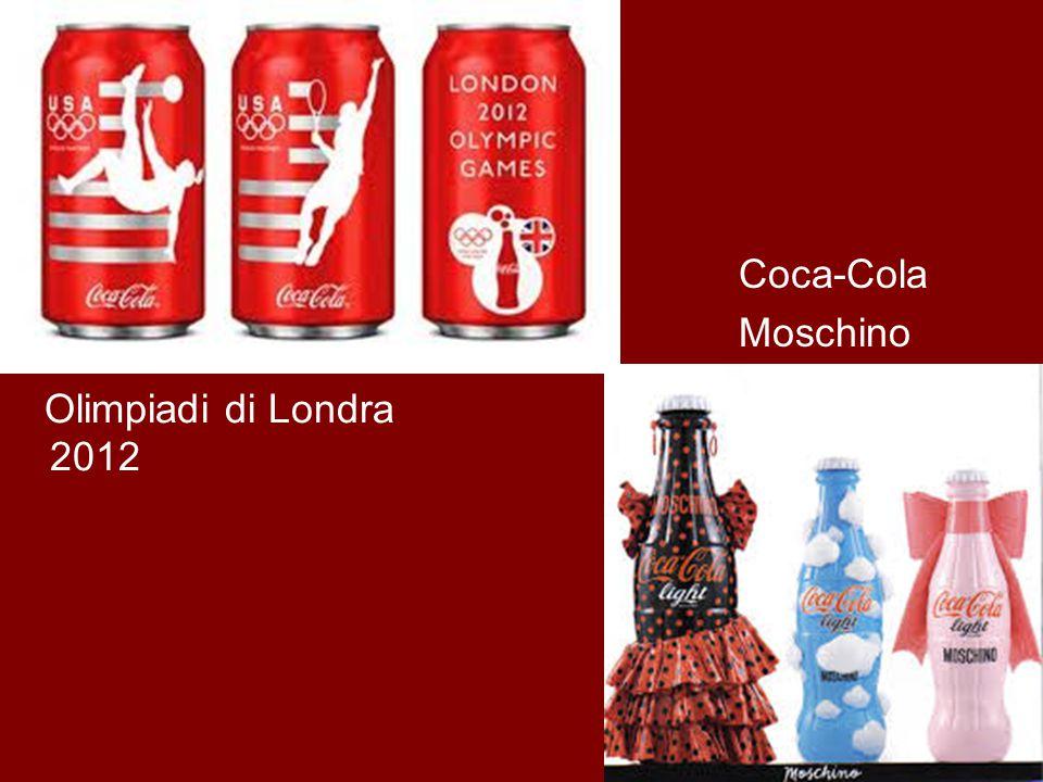 Olimpiadi di Londra 2012 Coca-Cola Moschino