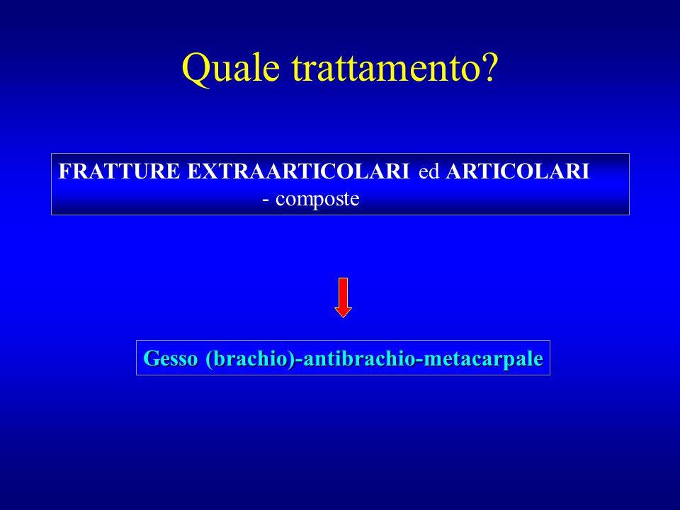 Gesso (brachio)-antibrachio-metacarpale