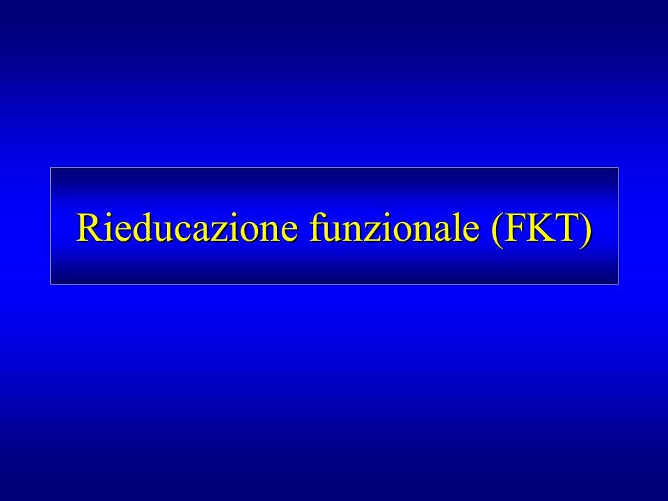 Rieducazione funzionale (FKT)