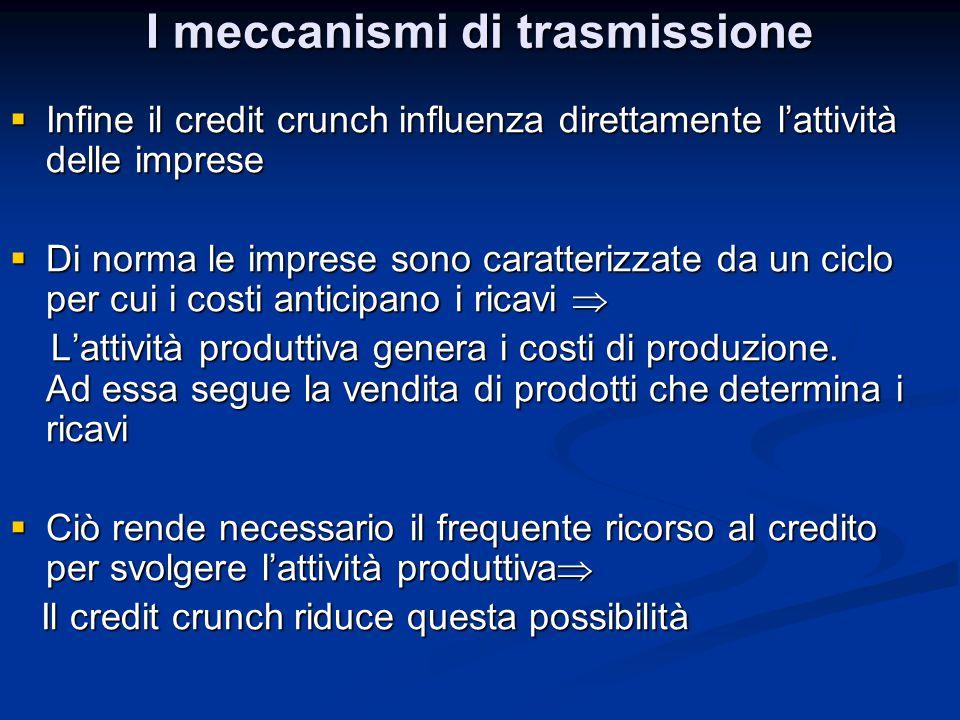 I meccanismi di trasmissione