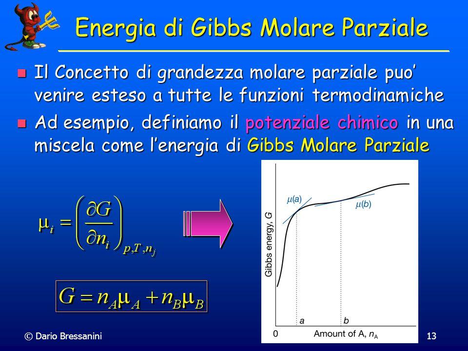Energia di Gibbs Molare Parziale