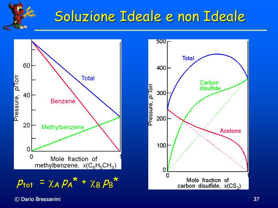 Soluzione Ideale e non Ideale