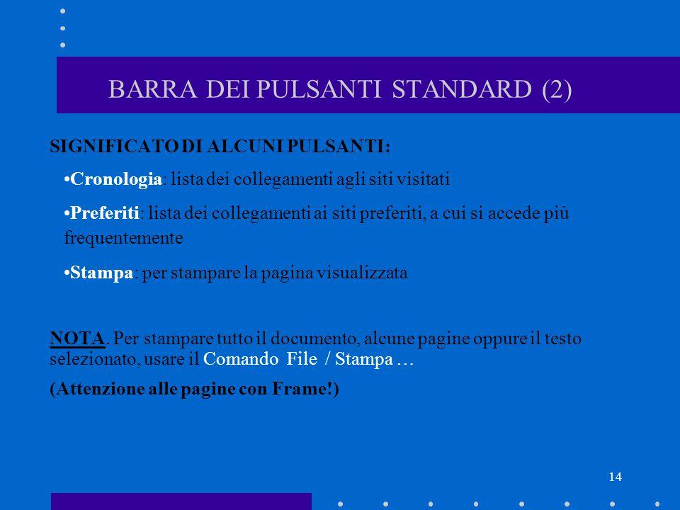 BARRA DEI PULSANTI STANDARD (2)