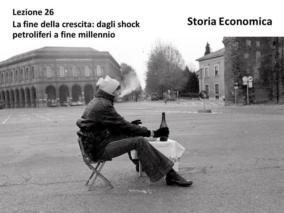 Storia Economica Lezione 26