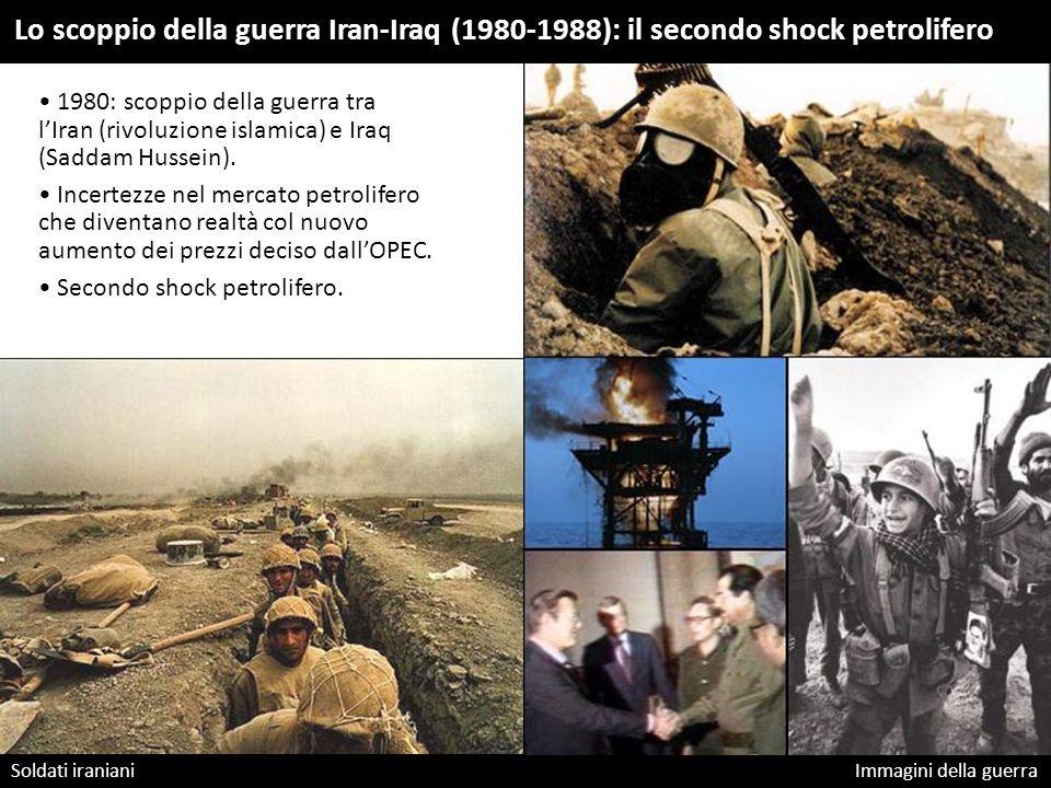 Lo scoppio della guerra Iran-Iraq (1980-1988): il secondo shock petrolifero