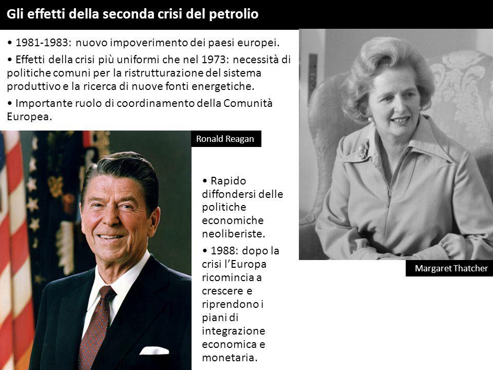Gli effetti della seconda crisi del petrolio