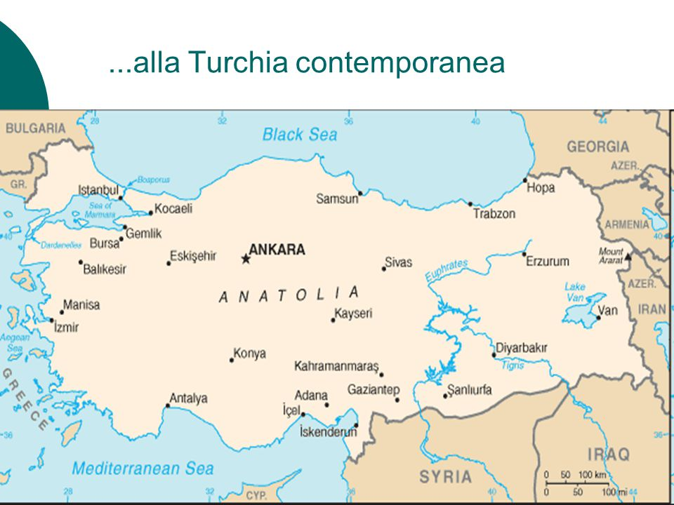 ...alla Turchia contemporanea