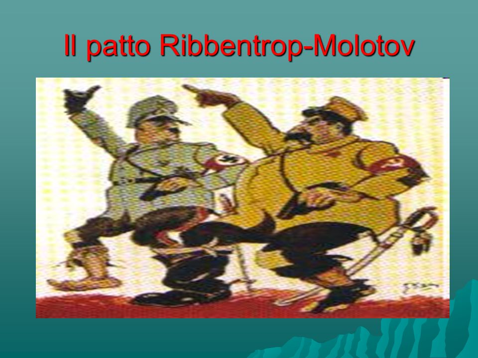 Il patto Ribbentrop-Molotov