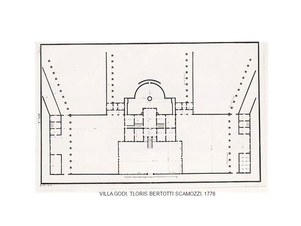 VILLA GODI, TLORIS BERTOTTI SCAMOZZI, 1778