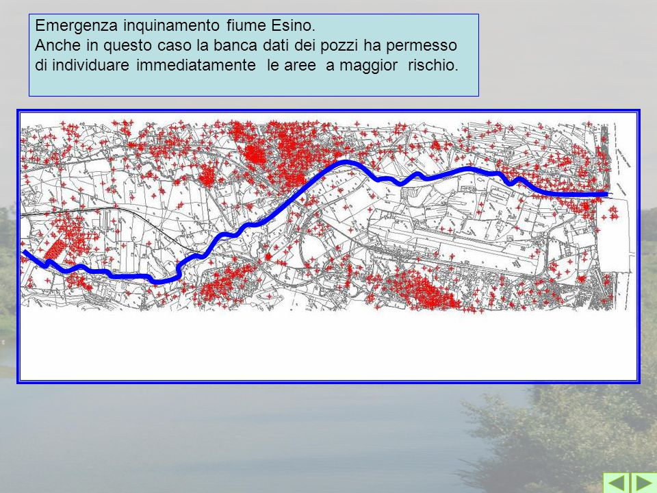 Emergenza inquinamento fiume Esino