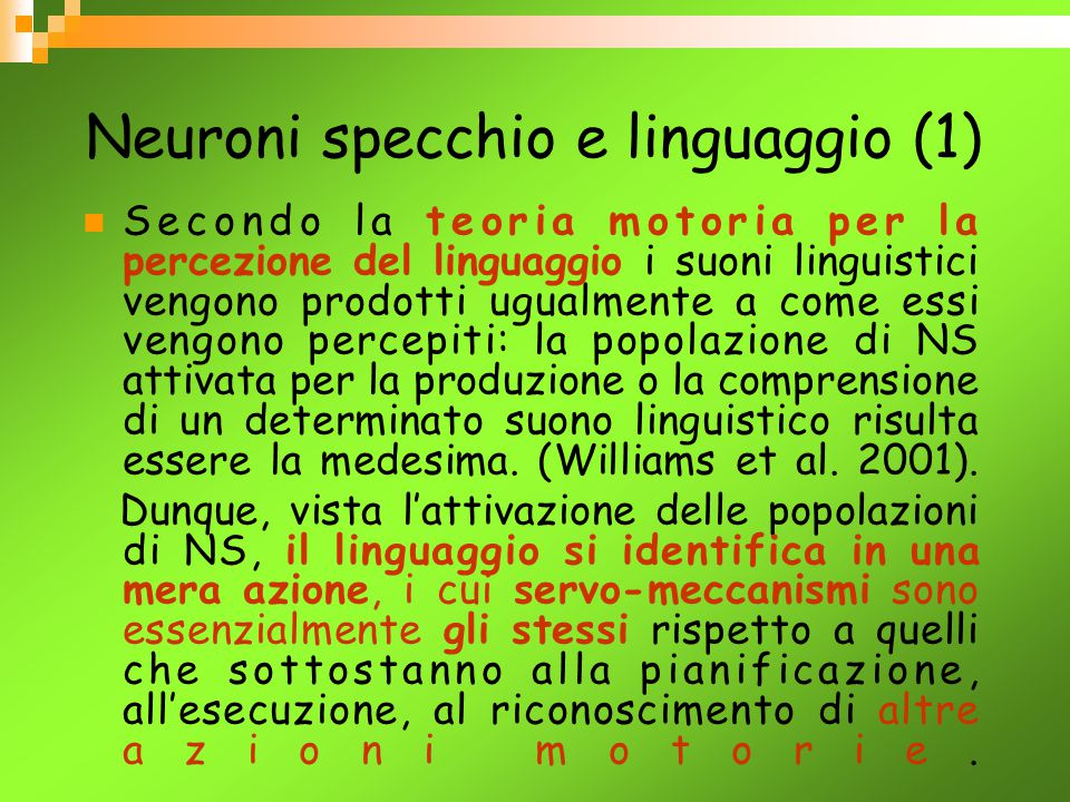 Neuroni specchio e linguaggio (1)
