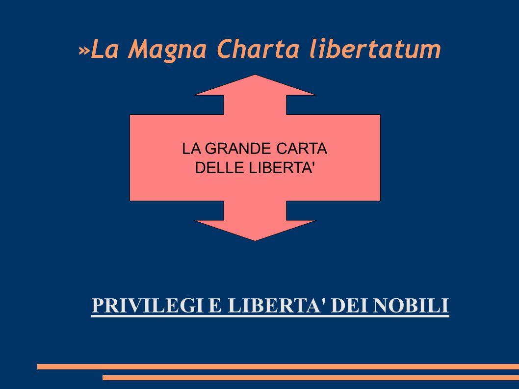 »La Magna Charta libertatum