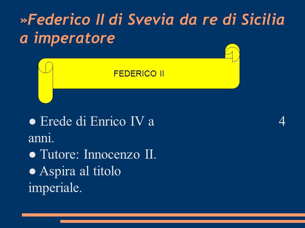 »Federico II di Svevia da re di Sicilia a imperatore