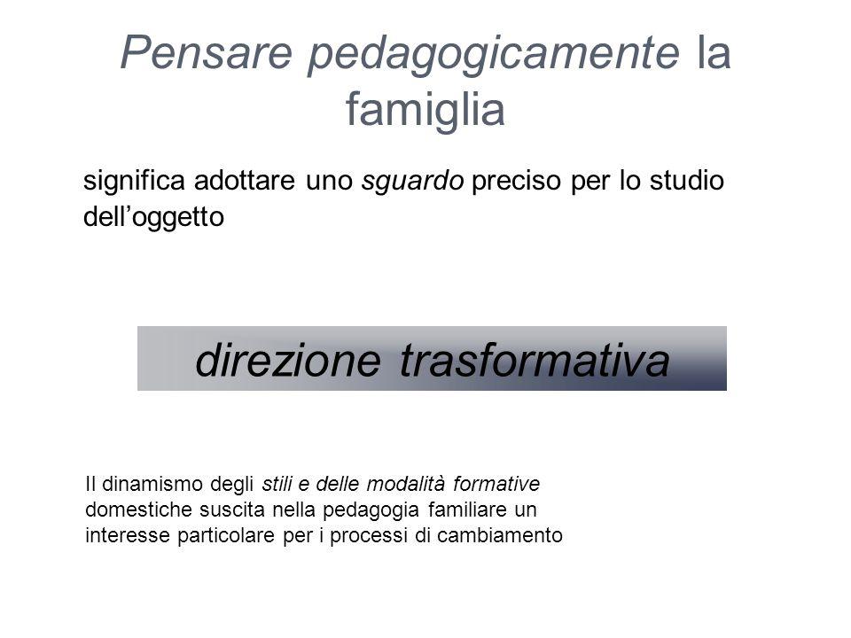 Pensare pedagogicamente la famiglia