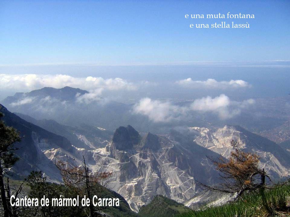 Cantera de mármol de Carrara