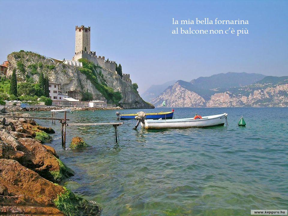 la mia bella fornarina al balcone non c'è più Atrani, Costa de Amalfi