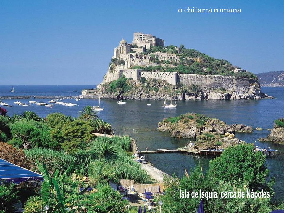 Isla de Isquia, cerca de Nápoles
