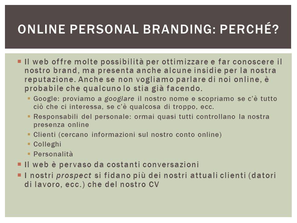 Online Personal branding: perché