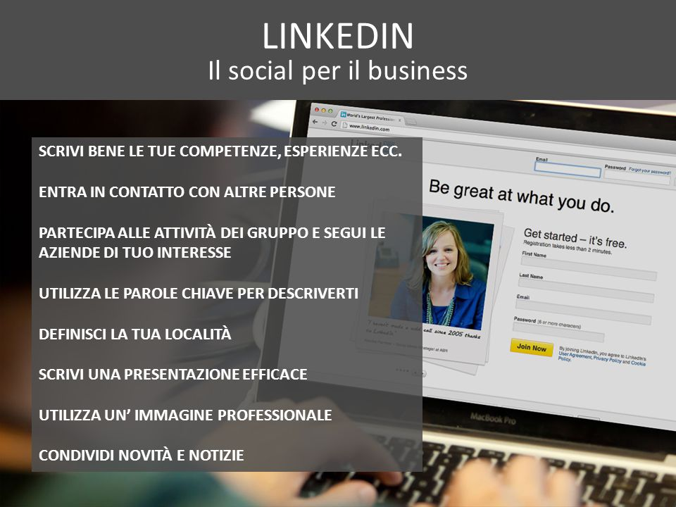 Il social per il business