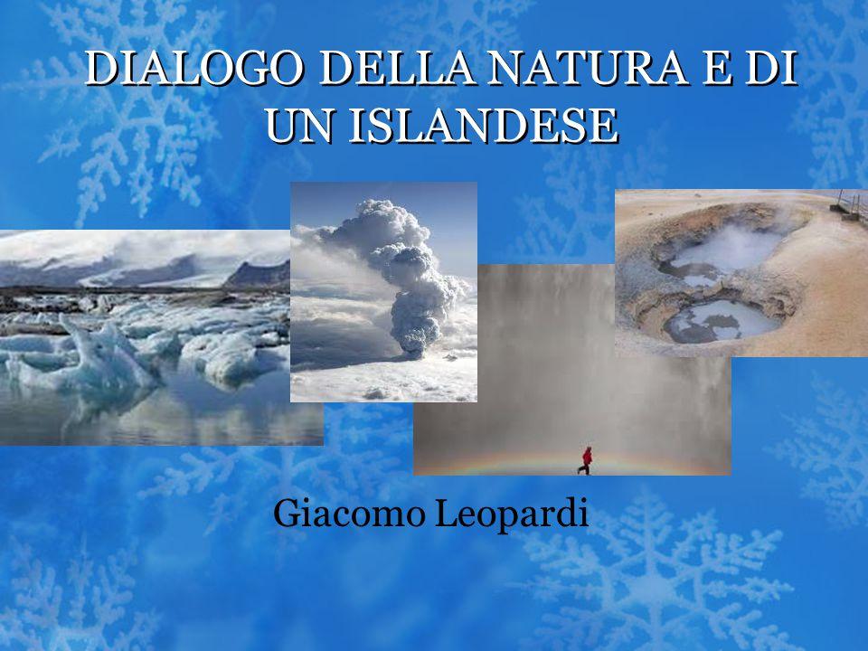 dialogo della natura e di un islandese ppt video online