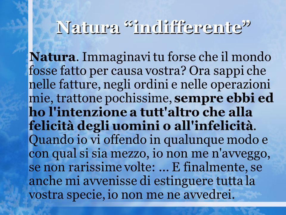 Natura indifferente