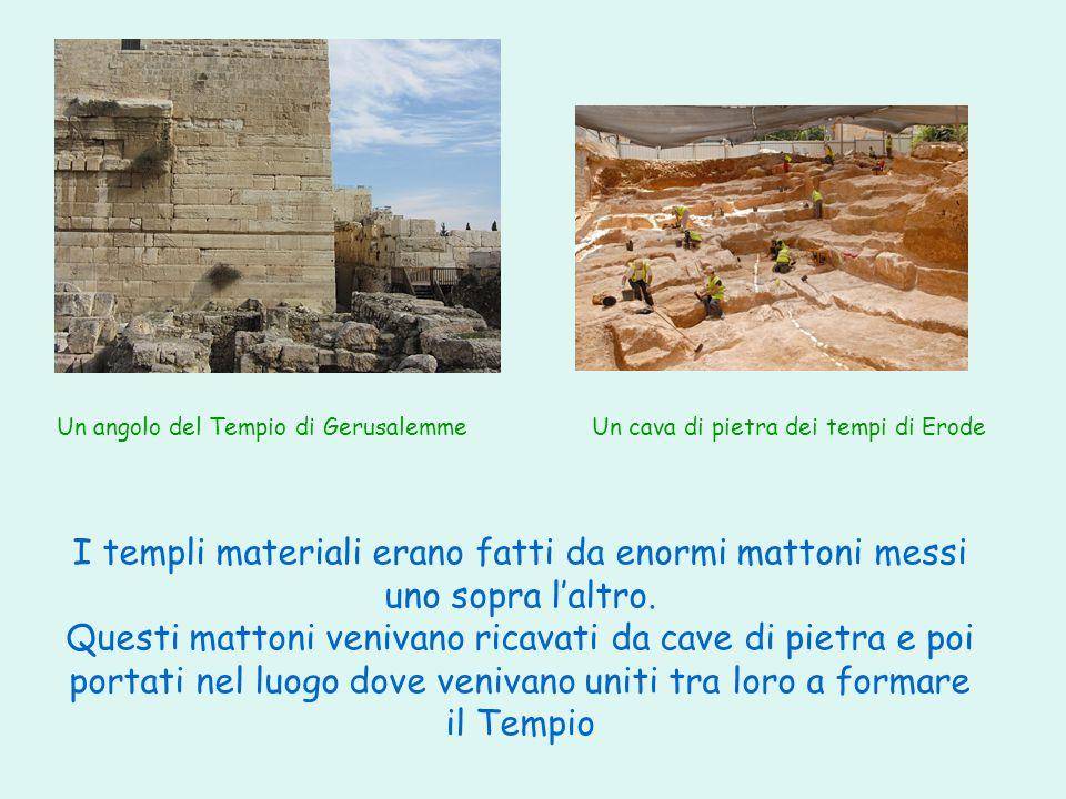Un cava di pietra dei tempi di Erode