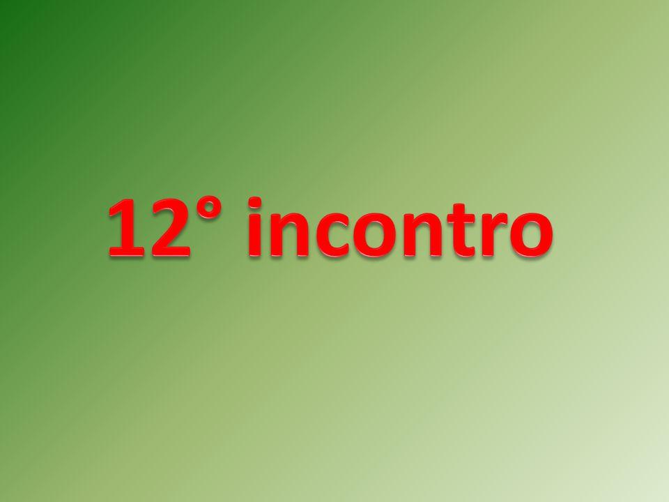 12° incontro