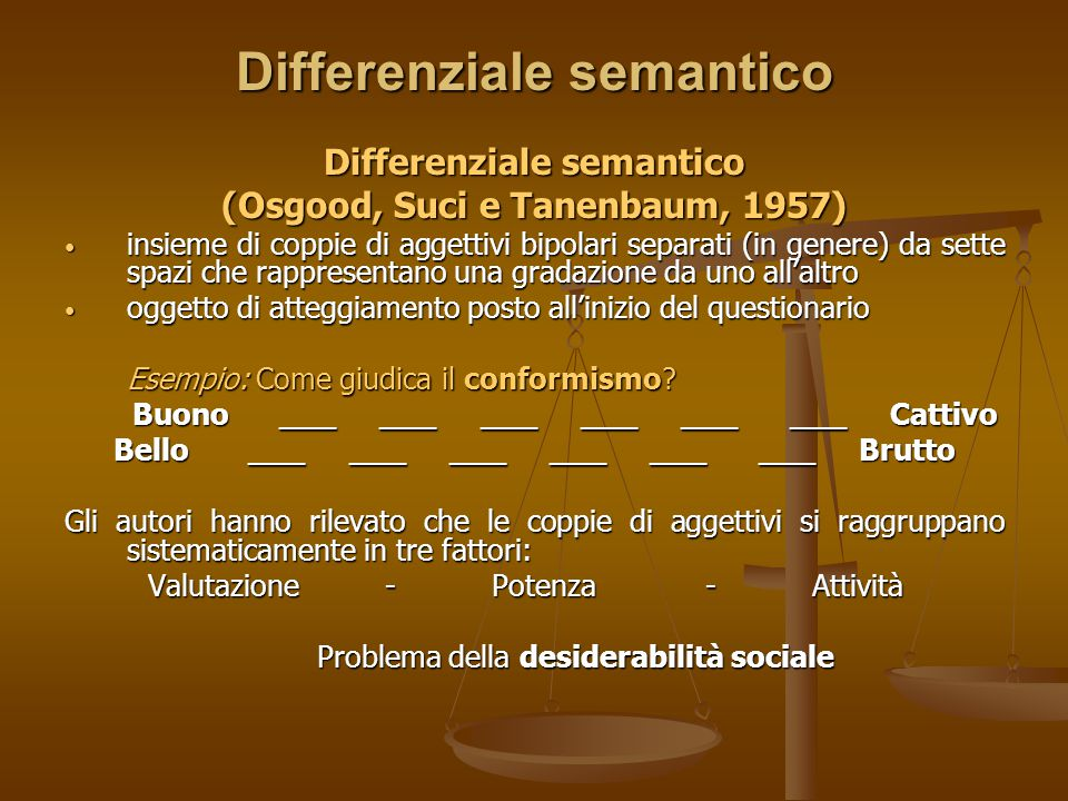 Differenziale semantico