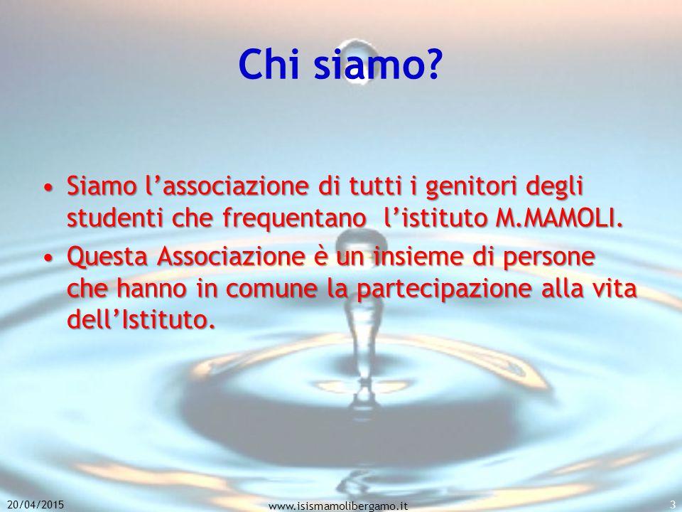 Chi siamo Siamo l'associazione di tutti i genitori degli studenti che frequentano l'istituto M.MAMOLI.