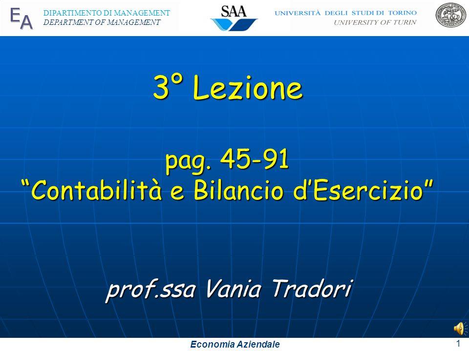 3° Lezione pag. 45-91 Contabilità e Bilancio d'Esercizio prof