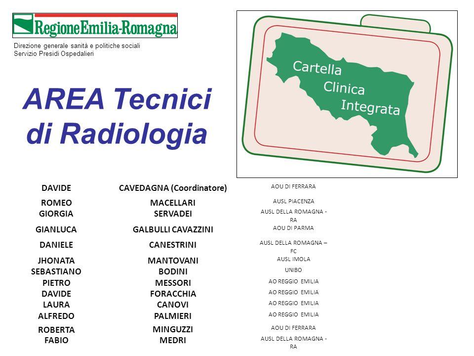 AREA Tecnici di Radiologia CAVEDAGNA (Coordinatore)