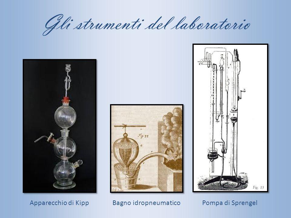 Gli strumenti del laboratorio