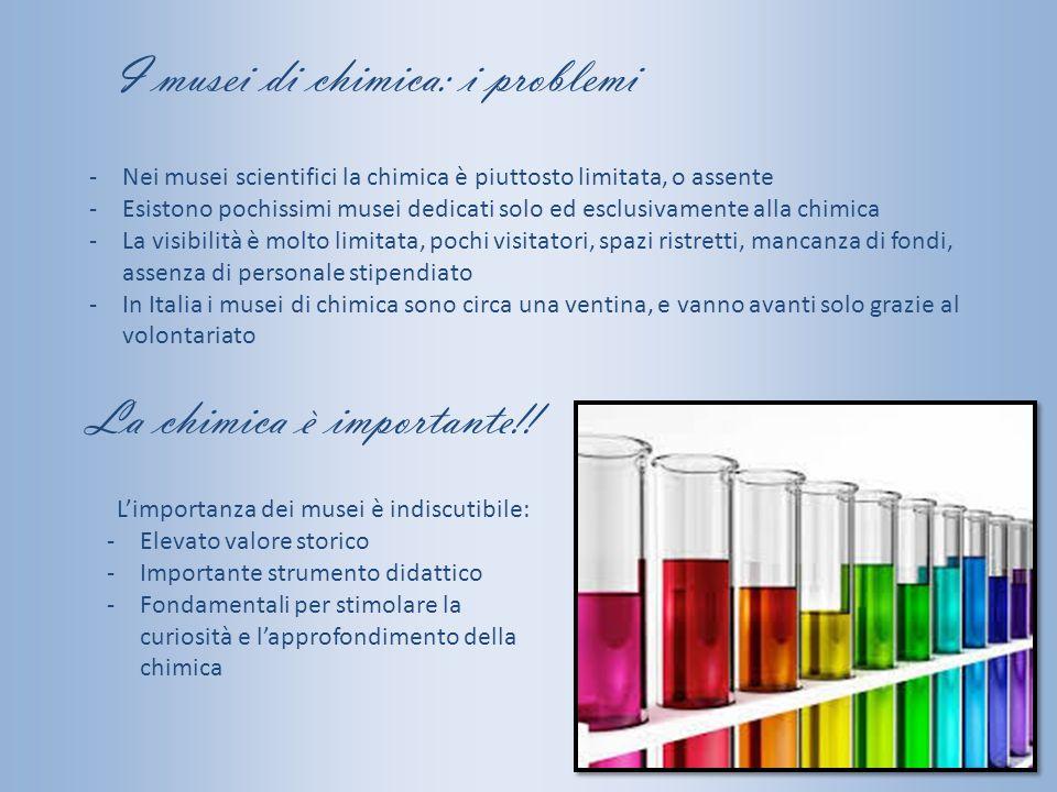 I musei di chimica: i problemi