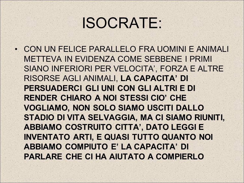 ISOCRATE: