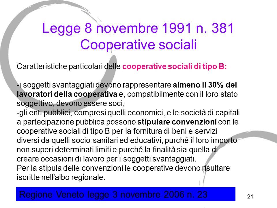 D.Lgs 460/1997 sulle organizzazioni non lucrative di utilità sociale (ONLUS)