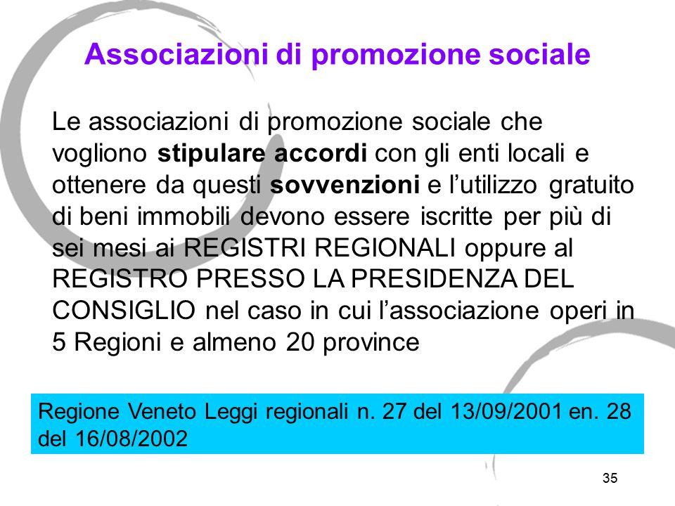 Differenze tra associazioni promozione sociale e organizzazioni volontariato