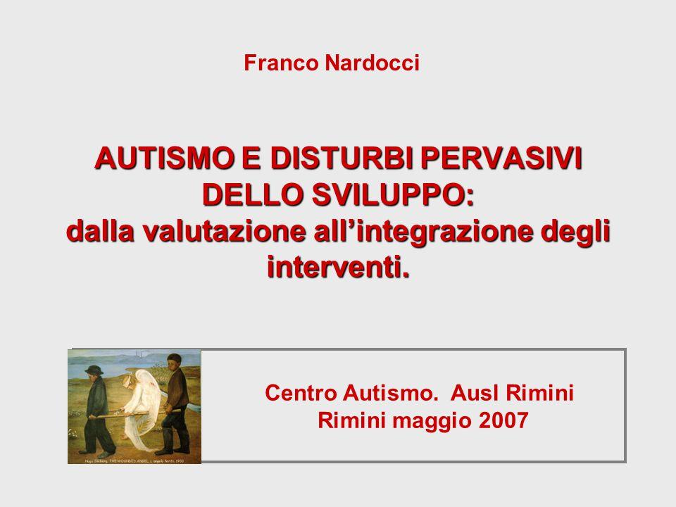 Centro Autismo. Ausl Rimini