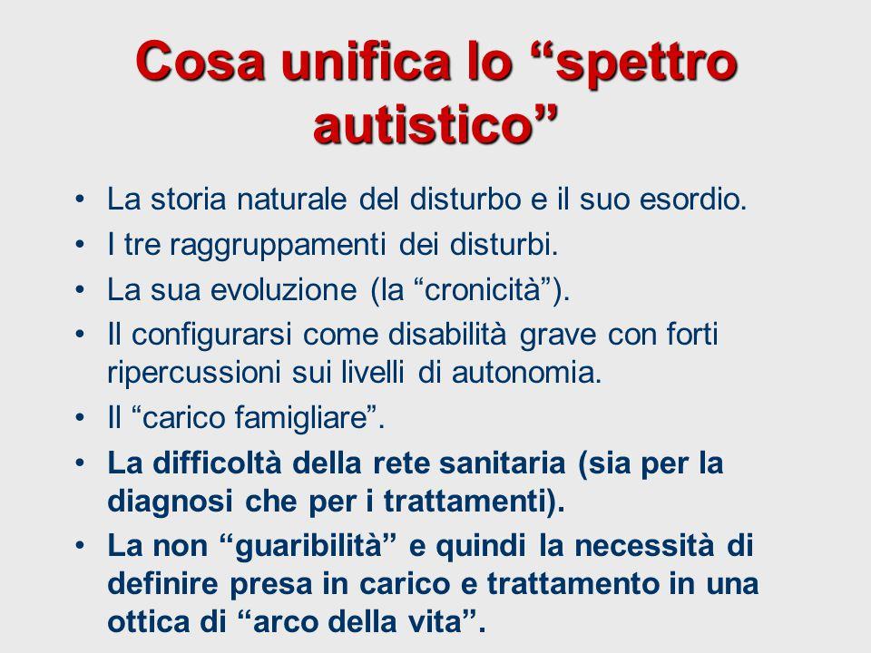 Cosa unifica lo spettro autistico