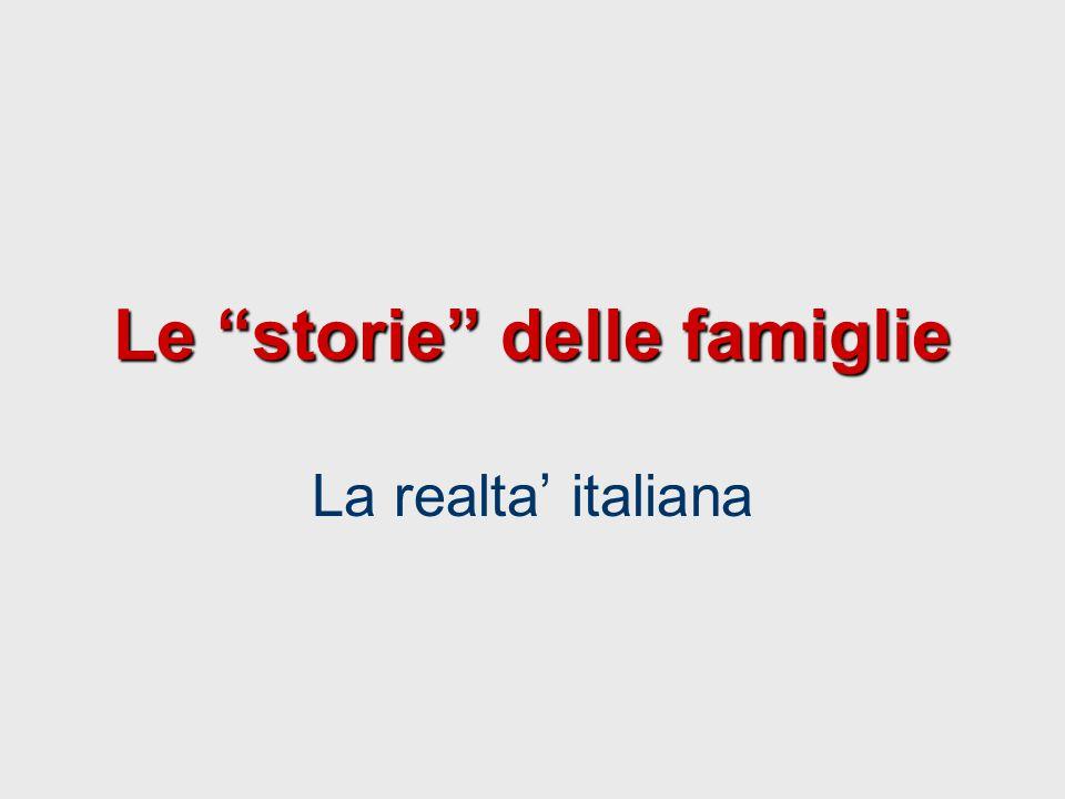 Le storie delle famiglie