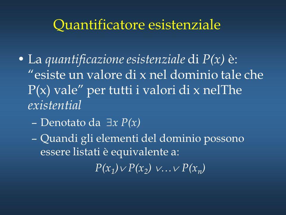 Quantificatore esistenziale