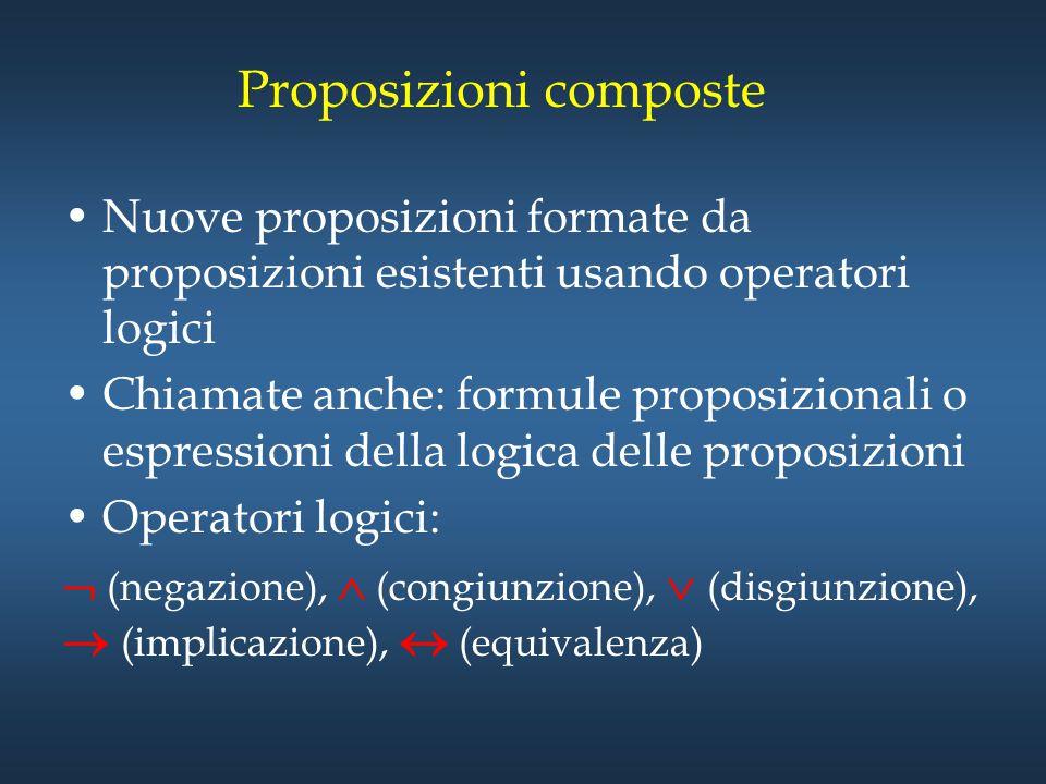 Proposizioni composte