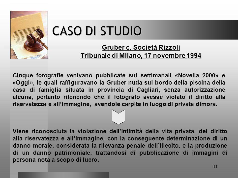 Tribunale di Milano, 17 novembre 1994