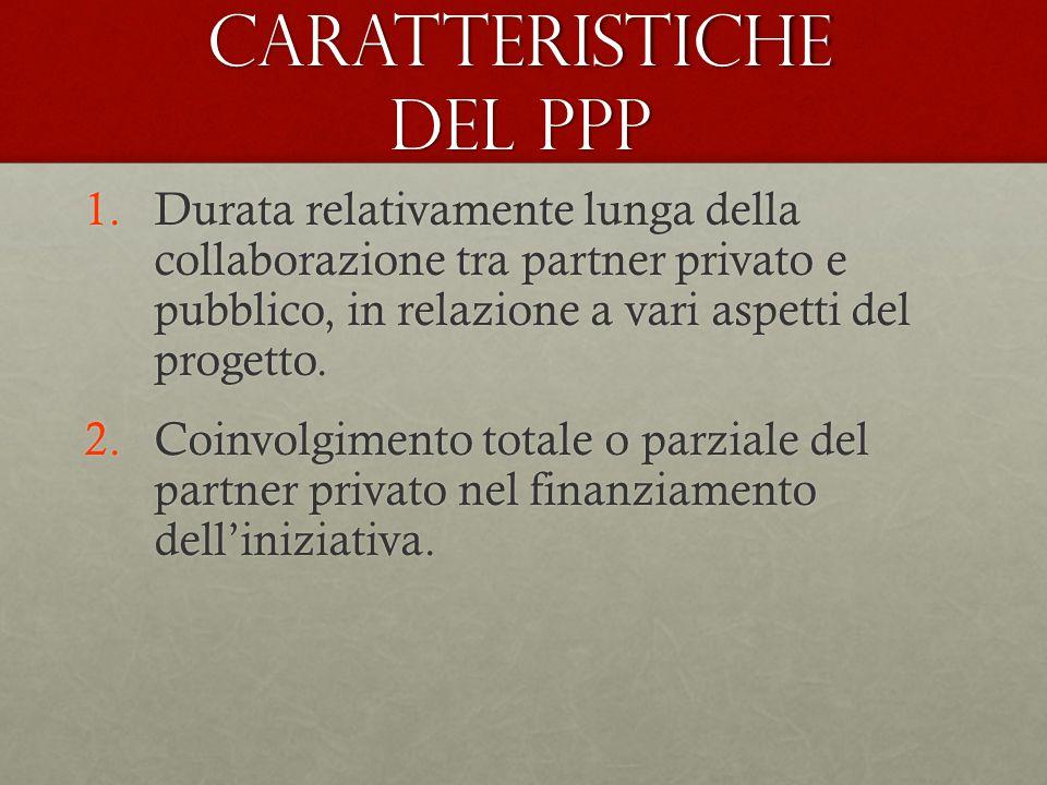 Caratteristiche del PPP