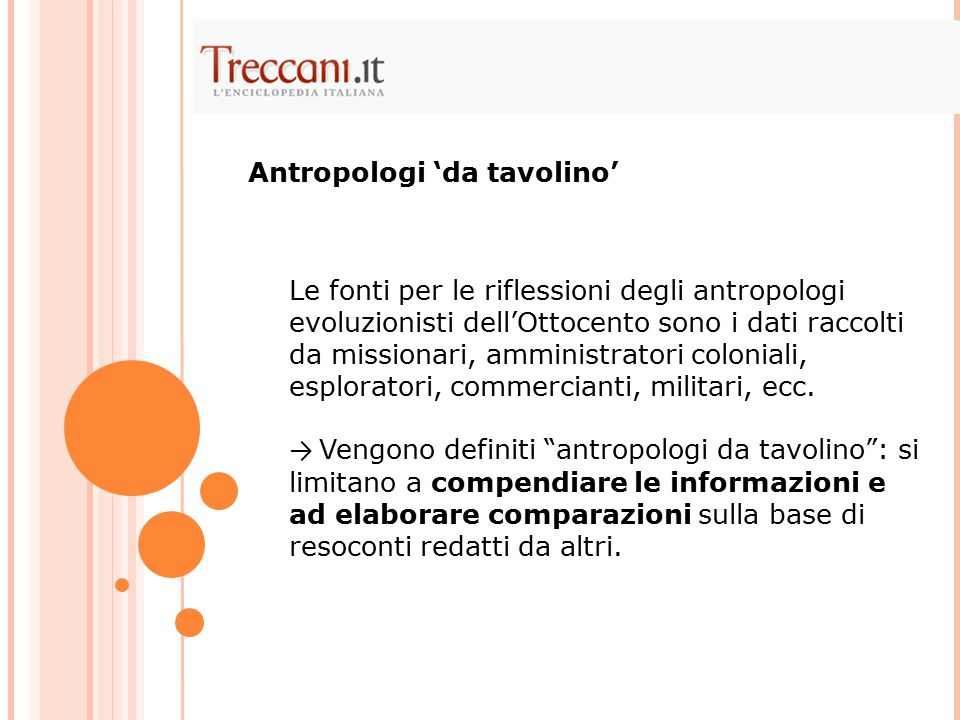 Antropologi 'da tavolino'