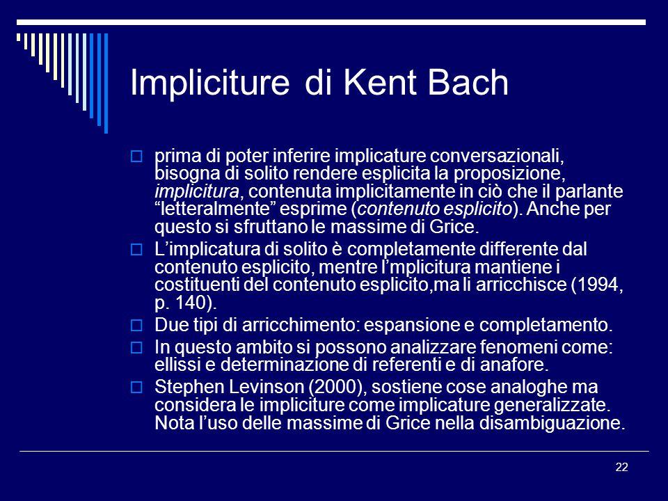 Impliciture di Kent Bach