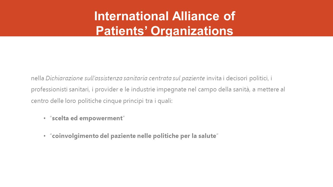 International Alliance of Patients' Organizations