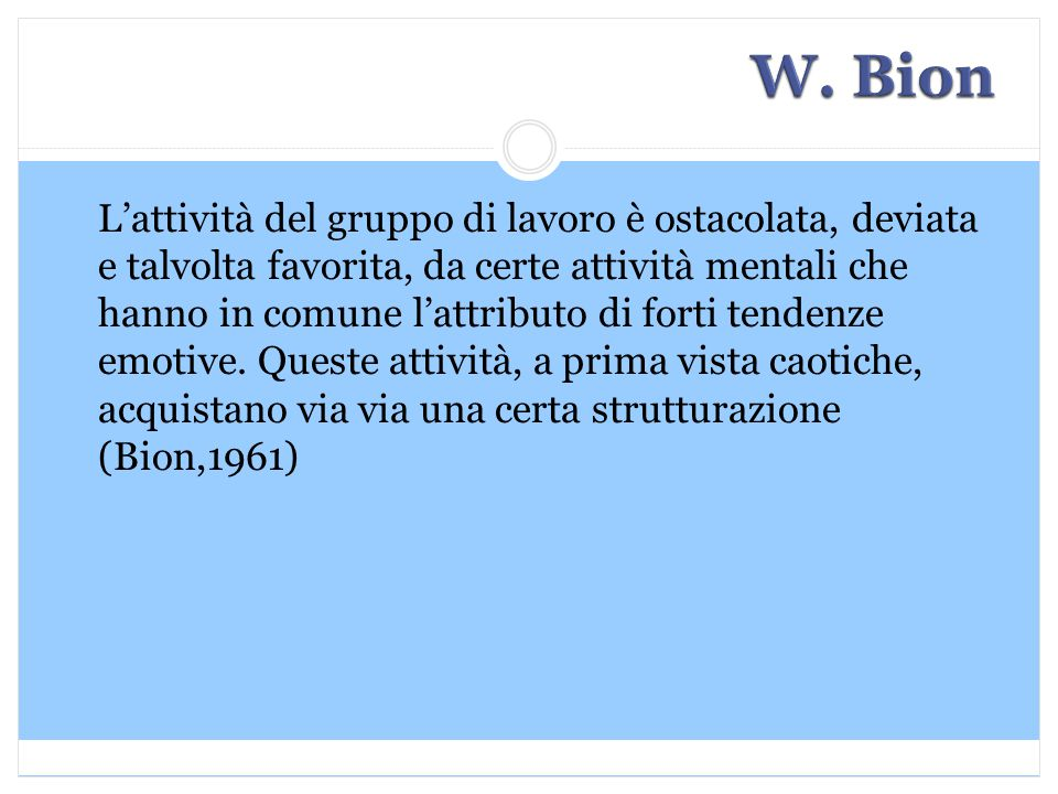 W. Bion